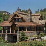 PrecisionCraft Log Homes | The Alderbrook