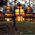 Barna Log Homes | Sierra Log Home Plan