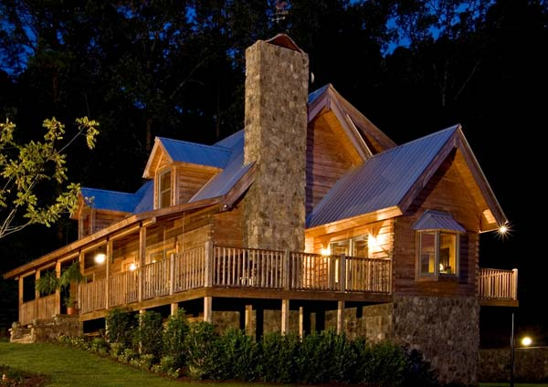 retirement cabin, suwannee river log homes