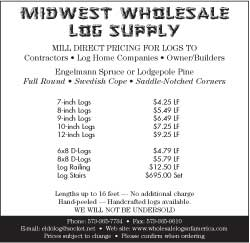 Midwest Wholesale Log Supply