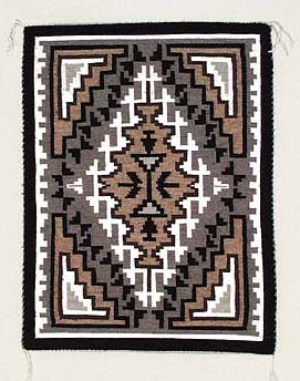 Navajo Weaving - Two Grey Hills