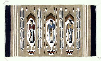 Mid-range Navajo Weaving or Rug