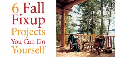 6 Fall Fixup Projects