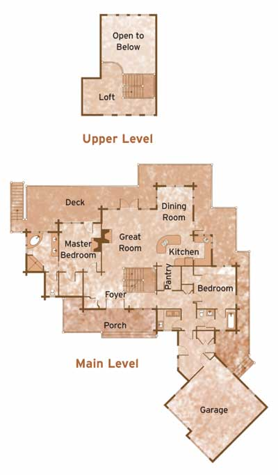 COLORADO by RCM CAD Design Floorplans