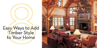 8 Easy Ways to Add Timber Style to Your Home