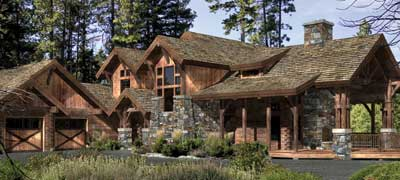 EAGLE'S NEST by Precision Craft Log & Timber Homes