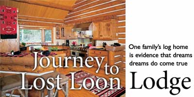 Journey to Lost Loon Lodge
