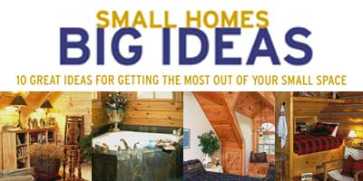 Small Homes, Big Ideas
