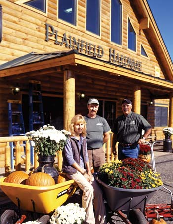 Plainfield Hardware Store | by Real Log Homes