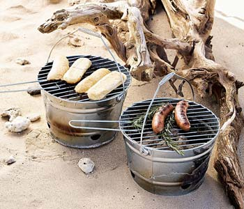 Portable Charcoal Grill from Pottery Barn
