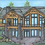 The Sapphire | Custom Log Homes