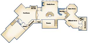 Strongwood Log Home Plan