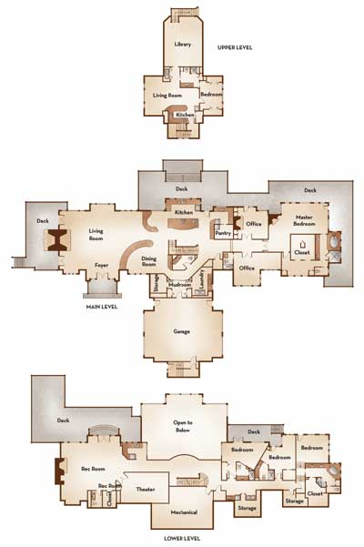 Ward Floorplan