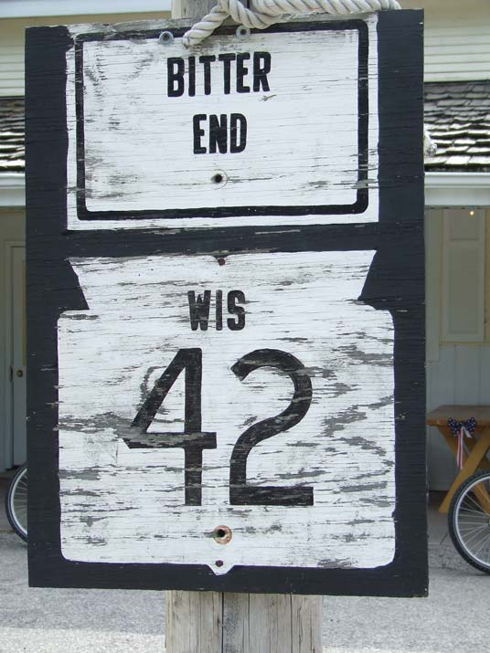 Weather Road Sign | Bitter End