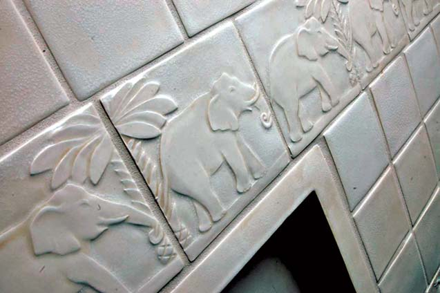 Handmade Tile by Gordon Bryan