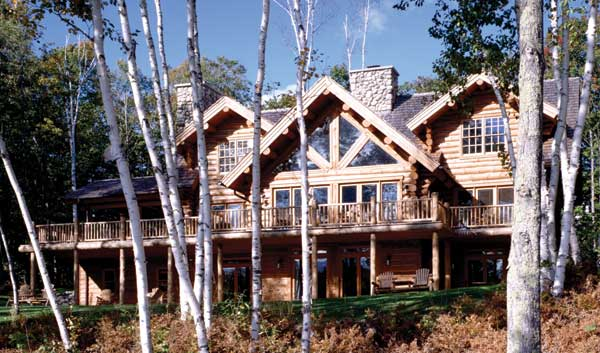 Maple Island Birch exterior
