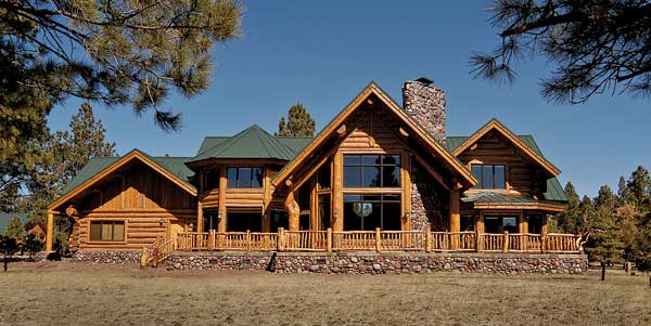 Mountain State Log Homes exterior