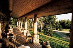 Moose Mountain porch