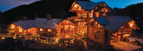 Pioneer Log Homes of British Columbia exterior