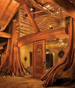 Pioneer Log Homes of British Columbia interior