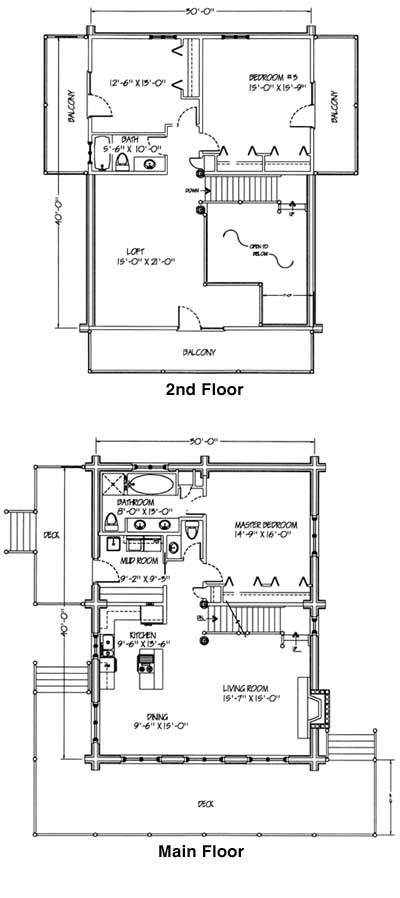 Kittery Point  Floorplans