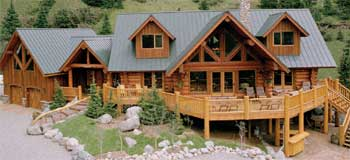 Elk Ridge Ranch - WoodsCrest Log Homes