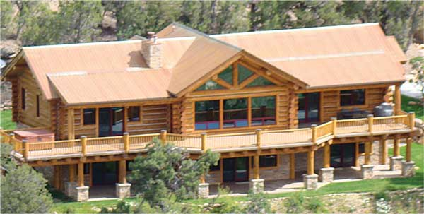 Forest Classics Log Homes - Bellhaven Exterior