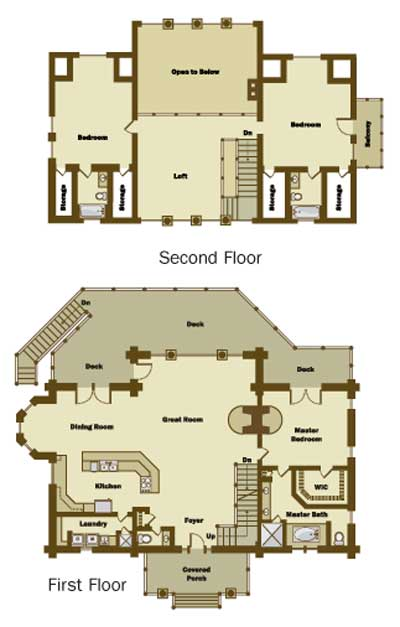 Preston Woods - Floorplans