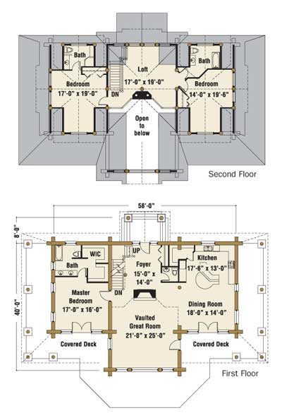 The Montague - Floorplans