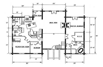 The Brenden Floorplans