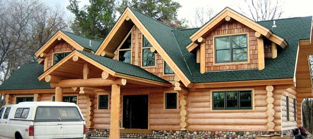 lake country log homes clear lake log home living