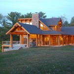 Lake Delton Home by Wisconsin Log Homes (28)