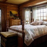 Patti's choice of vintage bedroom furnishings matches the relaxed, down-to-earth theme of their home.