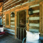 The builder crafted this guesthouse out of old tobacco barns for the Manfredi family.