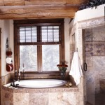 Luxurious master bathroom hot tub