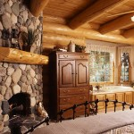 Garland Log Home Bedroom/