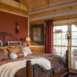Hunting Cabin Master Bedroom