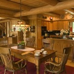 Classic Log Cabin Dining 2