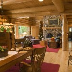Classic Log Cabin Dining
