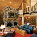 Classic Log Cabin Great Room