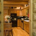 Classic Log Cabin Kitchen