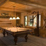 Classic Log Cabin Rec Room