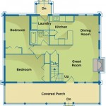 Environmentally Friendly Home Plan Main Level