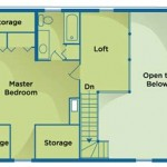 Environmentally Friendly Home Plan Upper Level