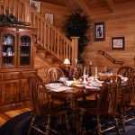 "The Cioffi home is the gathering spot for a large extended family of children, grandchildren and in-laws scattered throughout the state. ""There's always something going on,"" Joseph says. And with the large dining table and open floor plan, their log home is able to accommodate everyone."