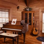 "According to Joseph, Patricia spent so much time looking for the right piano ""she played until her fingers were worn down. Then she played the Chickering piano and said, 'This is it.'"" BK Cypress President Jim Keeton said the ""acoustics in log home are very good. Musicians love it."""