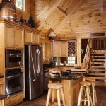 Kitchen of the Log Home | Photo by James Ray Spahn