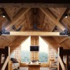Log Home Loft Area | Photo by James Ray Spahn