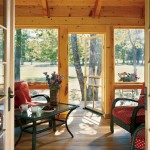 Summer memories are created on the screened-in porch of this utterly inviting retreat where not a speck of fussiness gets in the way of simple pleasures. The design and decor are clean, basic and the perfect conduits to the good life.