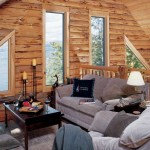 Adirondack Lakeside Log Home Loft